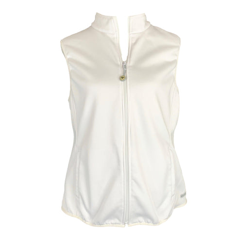Med Couture Performance Fleece Vest (8690) >> White, Large