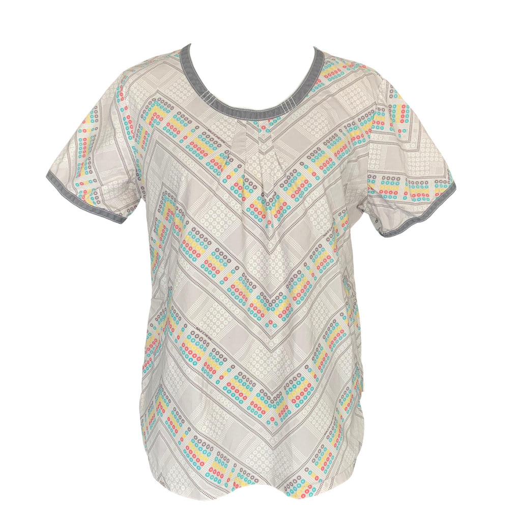 Skechers Round Neck Print Top (25765) >> Patterned, Medium