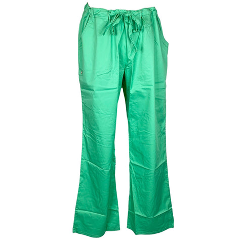 Cherokee Luxe Low Rise Drawstring Pant (1066) >> Spectra Green, Large