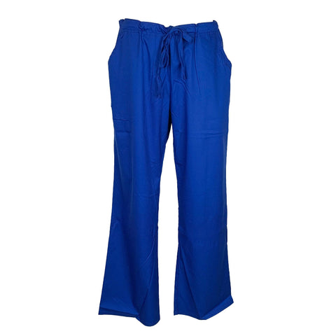 Cherokee Luxe Low Rise Drawstring Pant (1066) >> Galaxy Blue, Large
