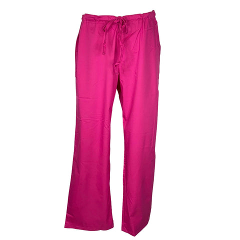 Cherokee Luxe Low Rise Drawstring Pant (1066) >> Pink Violet, Large