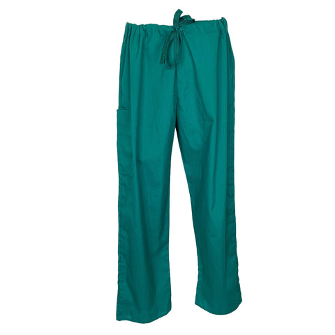 Smart Essentials Unisex Drawstring Waist Pant >> Hunter Green, X-Large