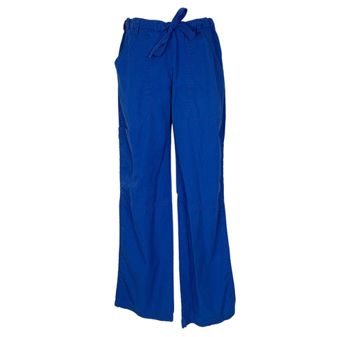 Cherokee Workwear Low Rise Drawstring Pant (4020) >> Galaxy Blue, X-Small
