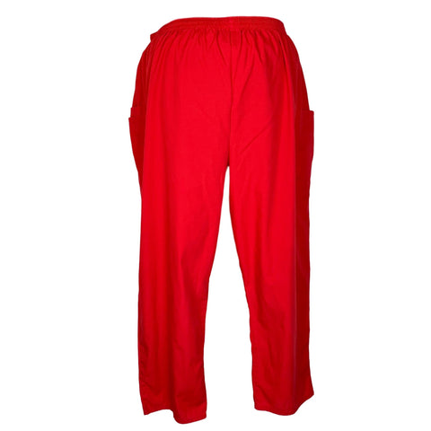 Cherokee Workwear Elastic Waist Utility Pant (4200) >> Red, 5X-Large
