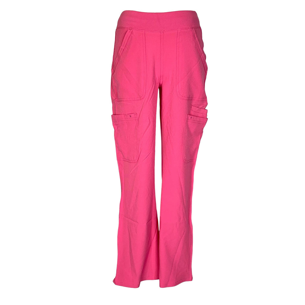 HeartSoul Drawn To Love Low Rise Cargo Pant (020) >> Pink Party, XX-Small Petite