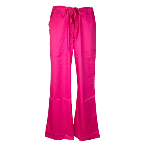 Cherokee Luxe Low Rise Drawstring Pant (1066) >> Fuchsia Rose, Large