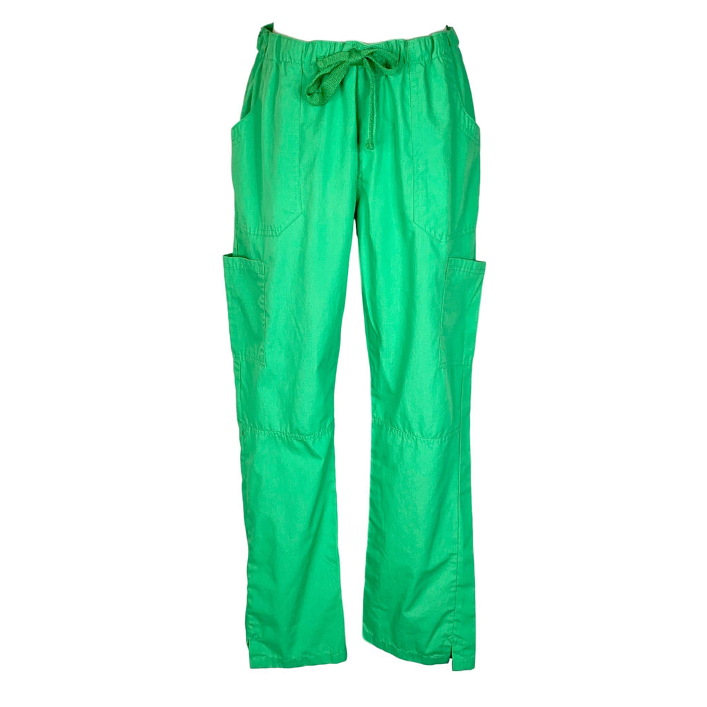 Uniform Advantage Drawstring Waist Cargo Pant (944) >> Gecko Green, Medium