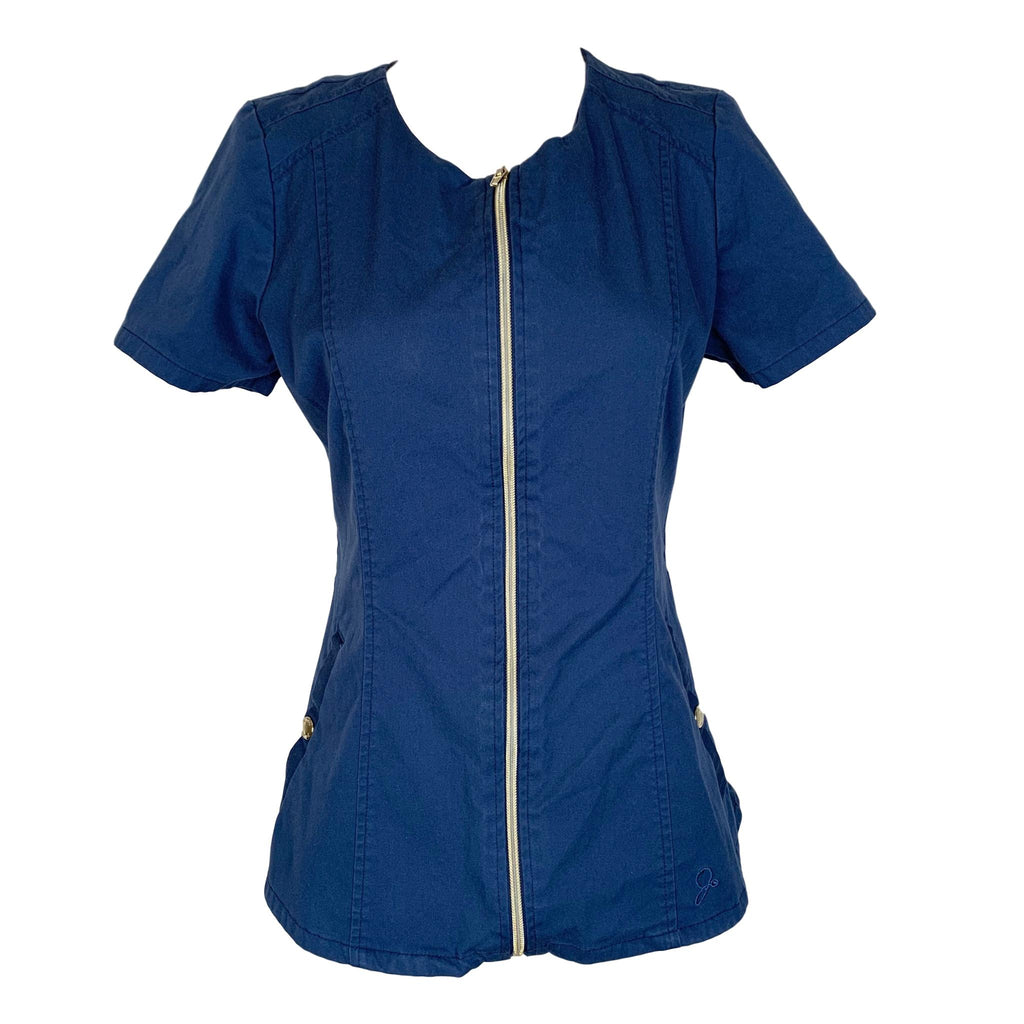 Jaanuu Jolie Collection Biker Top (96049) >> Estate Navy Blue, X-Small