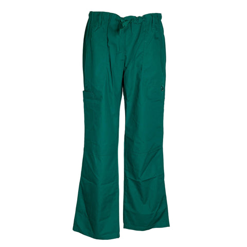 Adar Medical Drawstring Pant (510) >> Hunter Green, Small