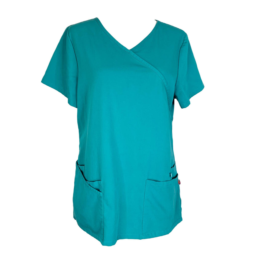 Urbane Crossover Tunic (9577) >> Teal, Small