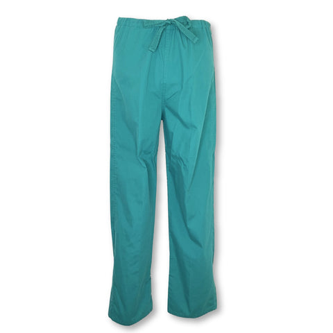 Landau Unisex Reversible Drawstring Pant >> Hunter Green, X-Small