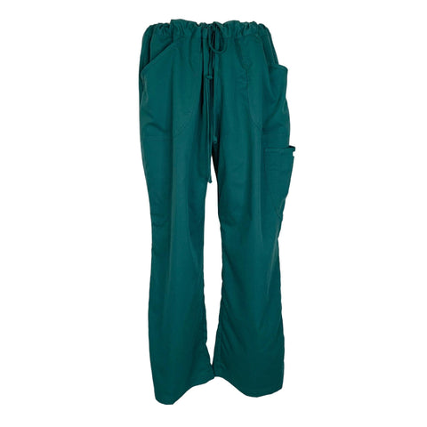 Grey's Anatomy Cargo 3 Pocket Scrub Pant (7241) >> Forrest Green, X-Large Petite