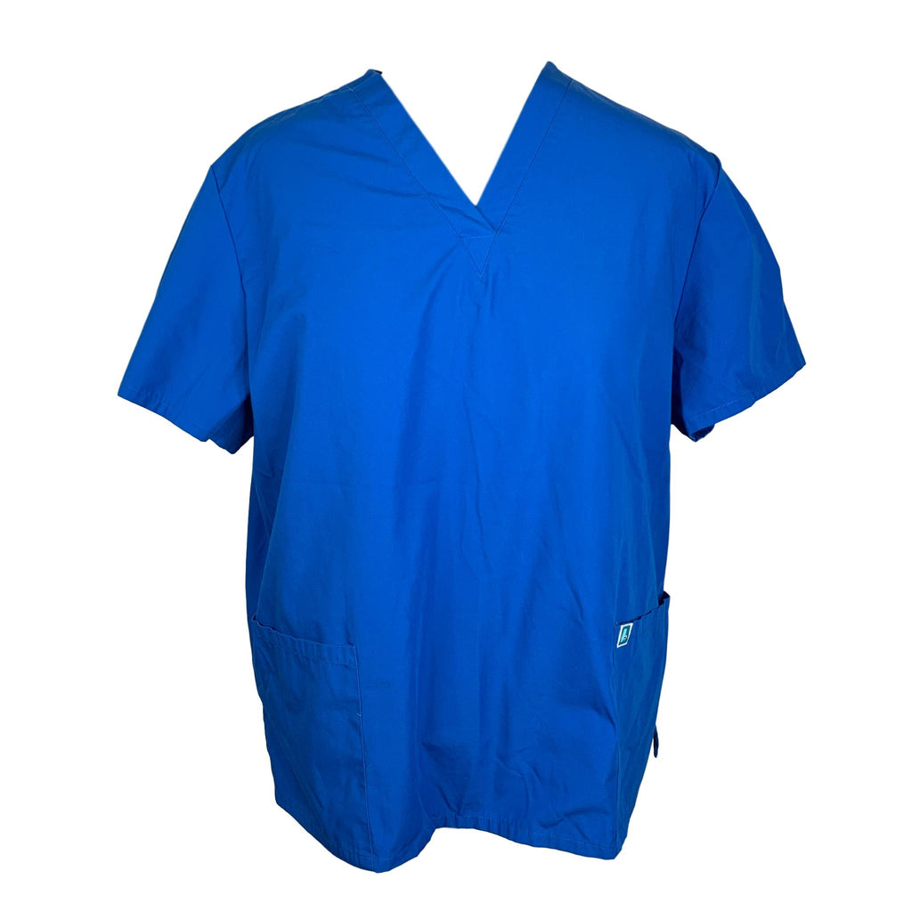 Adar Medical Universal Unisex 3-Pocket Tunic Top (701) >> Regal Blue, 4X-Large