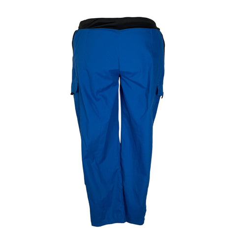 Butter-Soft Knit Band Cargo Pant (227) >> Royal Blue, 2X-Large