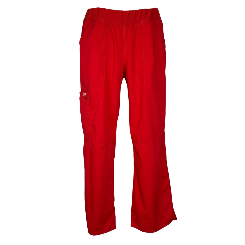 Cherokee Workwear Revolution Pull-On Pant (110) >> Red, Medium