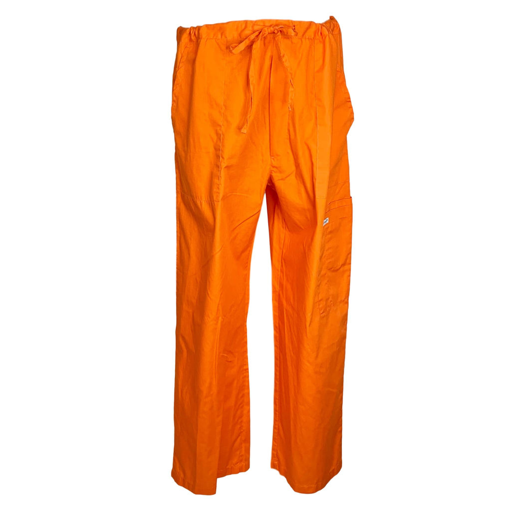 Featherhead Drawstring Waist Pant >> Orange, X-Large