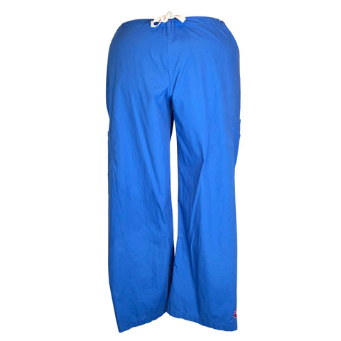 Urbane Drawstring Waist Cargo Pant (9702) >> Royal Blue, 2X-Large