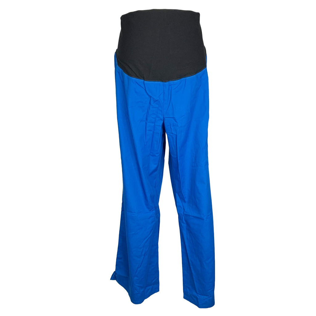 Cherokee Flexibles Maternity Boot Cut Pant (2092) >> Royal Blue, Large