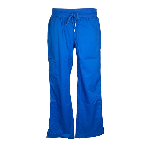 Med Couture Touch Yoga Cargo Pant (7789) >> Royal Blue, Medium Petite