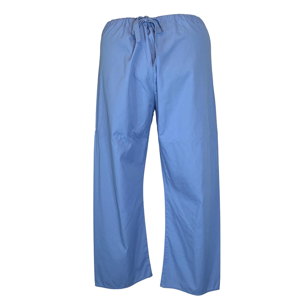 Crest Unisex Drawstring Pant (114) >> Light Blue, 2X-Large