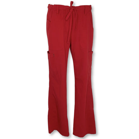 Koi Sapphire Alicia Cargo Pant (715) >> Red, Small