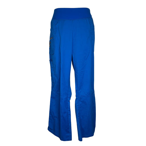 Beyond Scrubs Yoga Waistband Pant (9129) >> Royal Blue, X-Large Petite