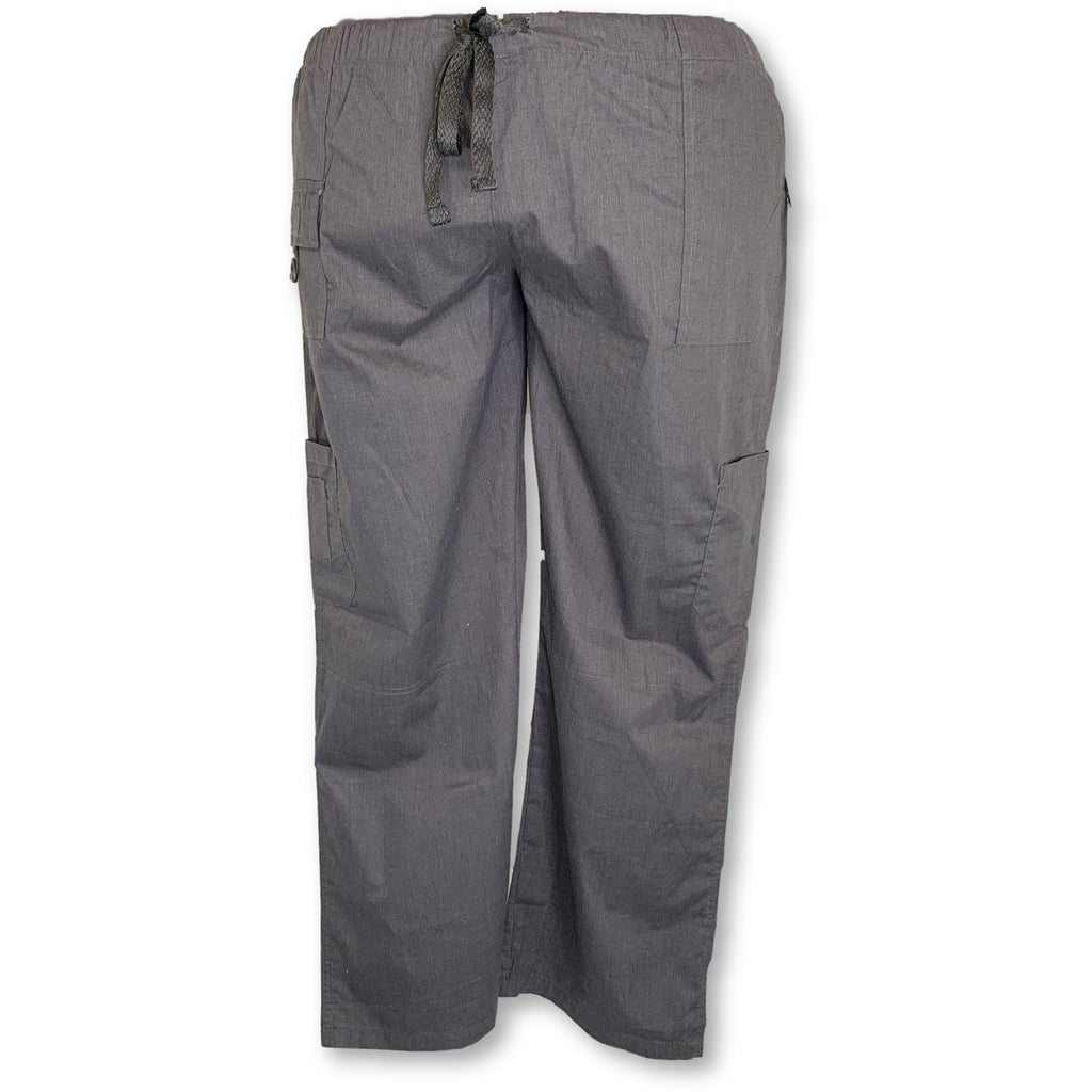 MedGear Drawstring Waist Cargo Pant (2043) >> Charcoal, 3X-Large