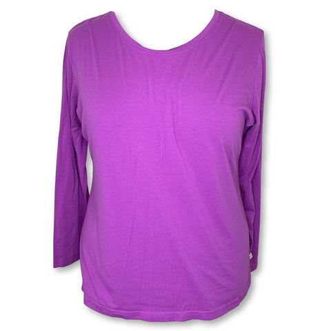 Healing Hands Purple Label Melissa Long Sleeve Tee (5047) >> Magenta, 3X-Large