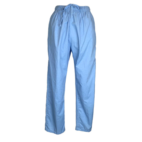 Carol's Scrubs Drawstring Elastic Waist Pant >> Light Blue, Large