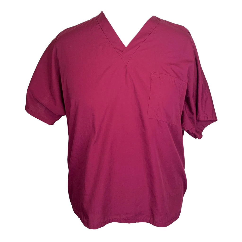 Cherokee Workwear Classic V-Neck (4700) >> Wine, X-Large