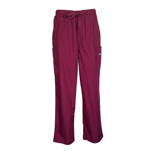 Cherokee Workwear Men's Cargo Pant (4000) >> Wine, Large