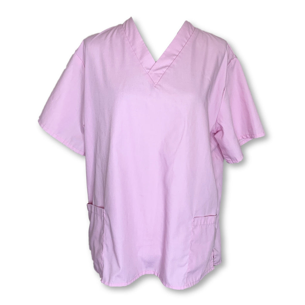 Natural Uniforms Unisex Top (101) >> Light Pink, Medium