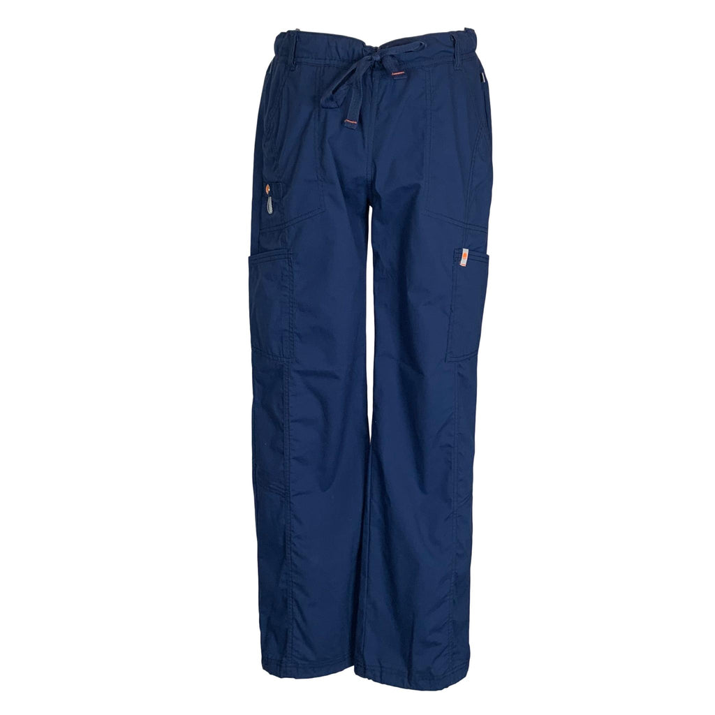 Code Happy Bliss Certainty® Drawstring Cargo Pant (46000) >> Navy, Small