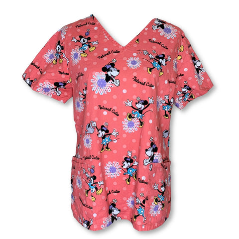 Disney Minnie Mouse Print Top (630) >> Patterned, Medium