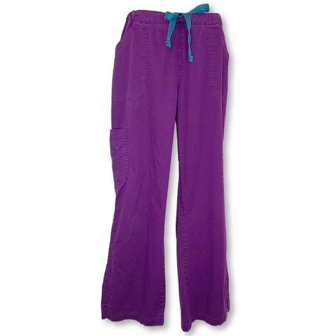 Bio Stretch Mega Pocket Cargo Pant (19202) >> Eggplant, Large