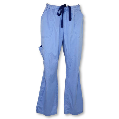 Bio Stretch Mega Pocket Cargo Pant (19202) >> Ceil Blue, Large