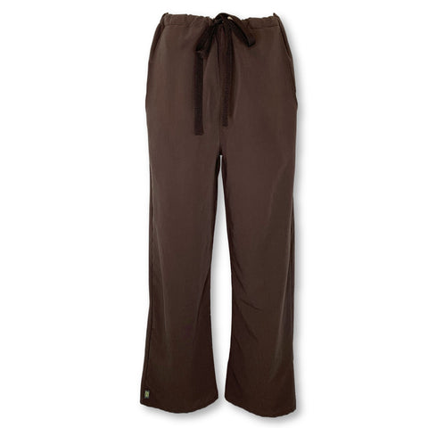 Ave by Medline Unisex Drawstring Pant (5900) >> Chocolate, Small