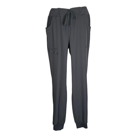 Break On Through by HeartSoul Jogger Low Rise Pant (030) >> Pewter, Large Tall