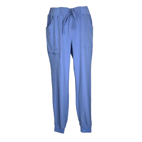 Break On Through by HeartSoul Jogger Low Rise Pant (030) >> Ceil Blue, Large Tall