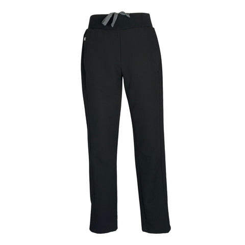 FIGS Drawstring Waist Pant (2011) >> Black, X-Small