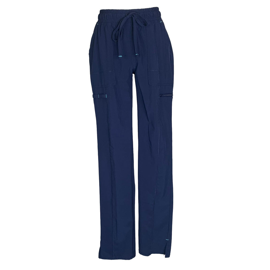 ScrubStar Premium Collection Drawstring Waist Pant (9841) >> Indigo, X-Small