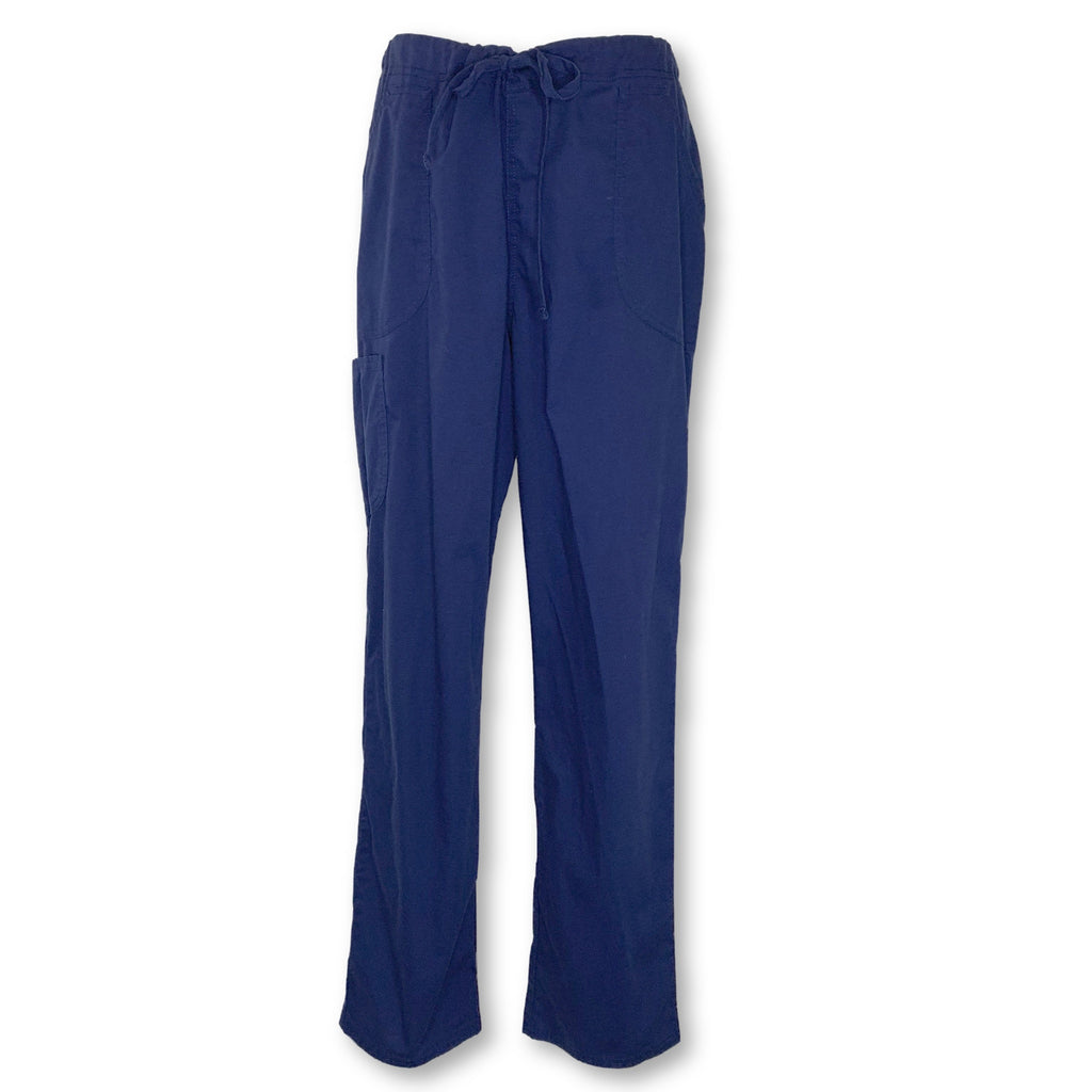 ScrubStar Drawstring Waist Pant (09049) >> Indigo, Medium