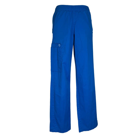 WonderWink Pull-On Cargo Pant (501) >> Royal Blue, XX-Small