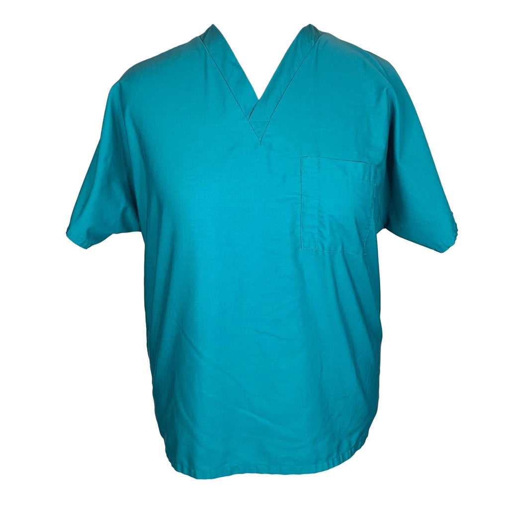 WS Gear V-Neck Unisex Top (14000) >> Teal, X-Large