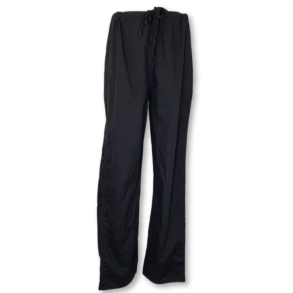 Landau Unisex Reversible Drawstring Pant (7602) >> Black, Medium Tall