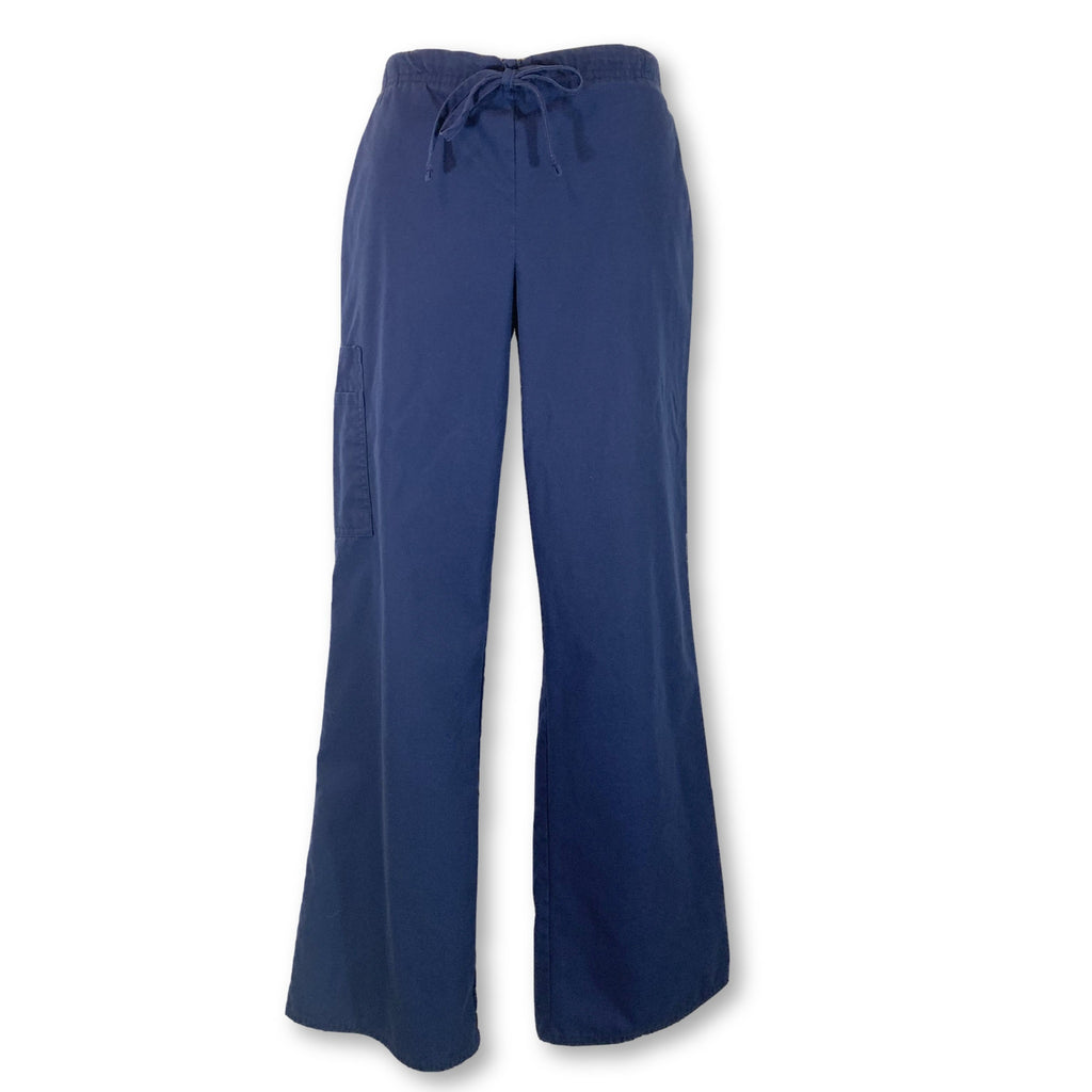 Simply Basic Drawstring Cargo Pant (400) >> Indigo, Small