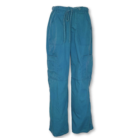 Dickies Contemporary Fit EDS Signature Drawstring Cargo Pant (85100) >> Caribbean Blue, Small