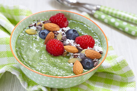 Chia Pudding Bowl Featuring Super 3 Green