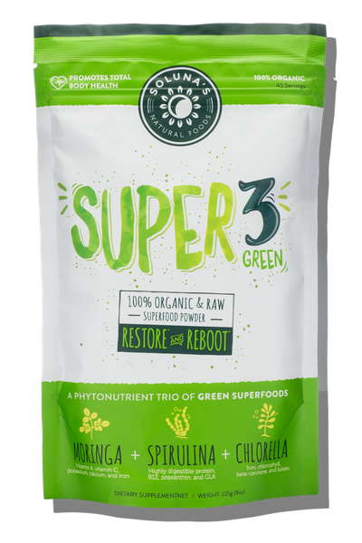 Super 3 Green Superfood Powder