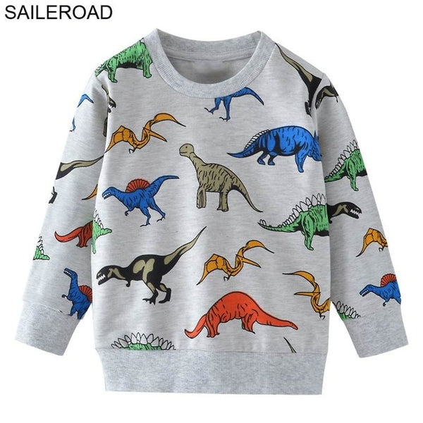 SAILEROAD 2 to 7years Sweater Reindeer Cartoon Sweaters for Newborn Girls 2019 Christmas Costume Boys Girls Clothes Winter